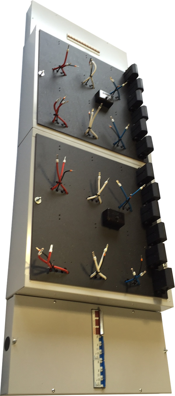 12 Way, pre-wired Meter Panel - 250 Amp